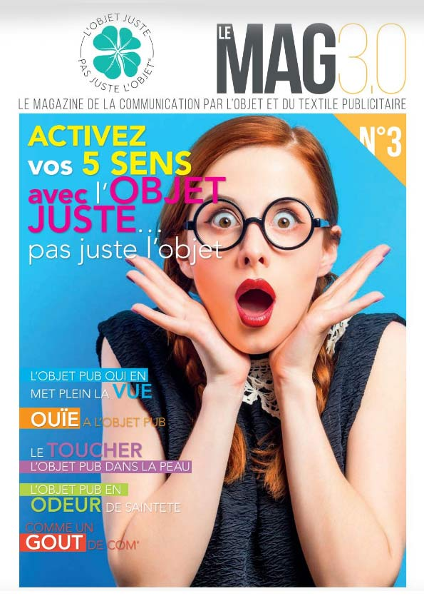 Le Mag 3.0 Welcome communication